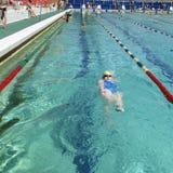 People having fun in swimming pool Royalty Free Stock Image