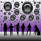 People having a party Royalty Free Stock Image