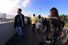 People at Heineken Primavera Sound 2013 Festival stock photos