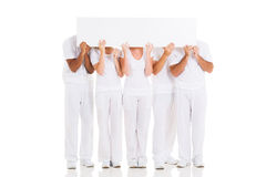 People hiding faces Royalty Free Stock Image