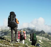 People in hike Royalty Free Stock Image