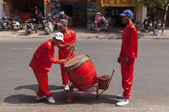 People of Ho Chi Minh Royalty Free Stock Photo