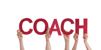 People Holding Coach Royalty Free Stock Photo