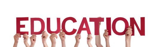 People Holding Education Royalty Free Stock Photo