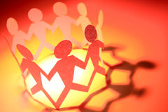 People holding hands Royalty Free Stock Images
