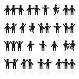 People holding hands.group of people. stock  Royalty Free Stock Image
