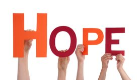 People Holding Hope Royalty Free Stock Images