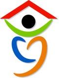 People home logo Stock Photos