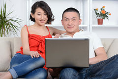 People At Home Stock Photography