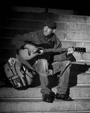 People, Homeless, Musician, Street Stock Photos