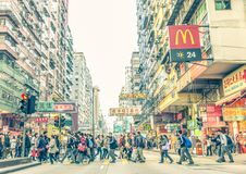 People in Hong Kong Stock Images