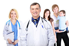People in the hospital Stock Photo