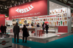 People at Host 2013 in Milan, Italy Stock Images