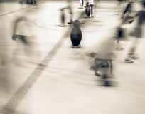 People at the ice rink. Stock Photography