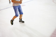 People at the ice rink. Royalty Free Stock Photo