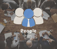 People Icon Community Homepage Information Concept Royalty Free Stock Photography