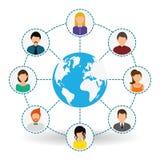 People icon design Stock Photos