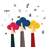 People icon design Royalty Free Stock Photography