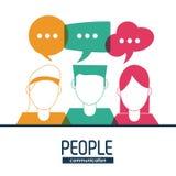 People icon design Stock Image