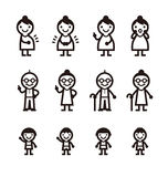 People Icon Royalty Free Stock Photos