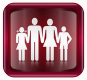 People icon red Stock Images