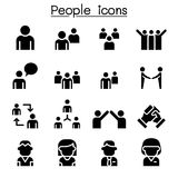 People icon set. Vector illustration graphic design vector illustration