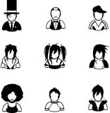 people icon Royalty Free Stock Photography