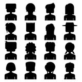 People Icon Silhouette Stock Images