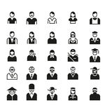 People Icon Symbol Logo Vector Set Stock Photos