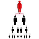 People icon vector illustration eps10. Royalty Free Stock Photos