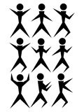 People icons Royalty Free Stock Image