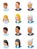 People icons stock photography