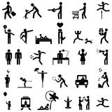 People Icons Vector Stock Photography