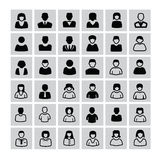 People icons Royalty Free Stock Photography
