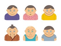 People icons Vector illustration Stock Photos