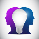 People ideas illustration design Stock Image