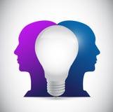 People ideas illustration design Stock Image