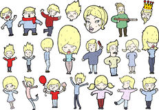 People illustrations Royalty Free Stock Images
