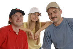 People In Caps Stock Images