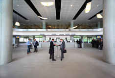 People In Hall On CEPIC Congress Royalty Free Stock Image