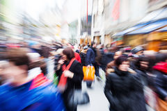 Free People In The City With Creative Zoom Effect Royalty Free Stock Photo - 36846105