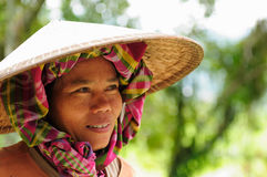 People from Indonesia, Rice workers Royalty Free Stock Photography