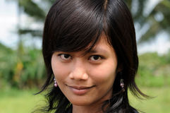 People from Indonesia, Young Indonesian girl Royalty Free Stock Image