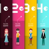 People Infographic Layout Infographics Design. People Infographic Layout. Vector Infographics Design vector illustration
