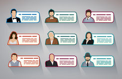 People information Stock Image