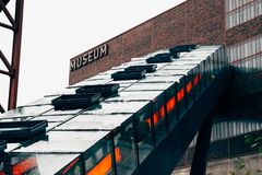People Inside Museum Royalty Free Stock Photography