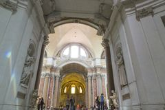 Santa Maria degli Angeli e dei Martiri stock photos