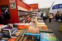 People on the International Book Fair Royalty Free Stock Photo