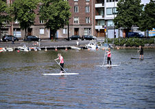 People involved Stand Up Paddleboard Stock Photography