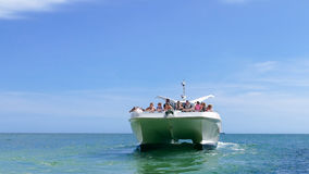 People on Jet boat - Portugal Stock Photos